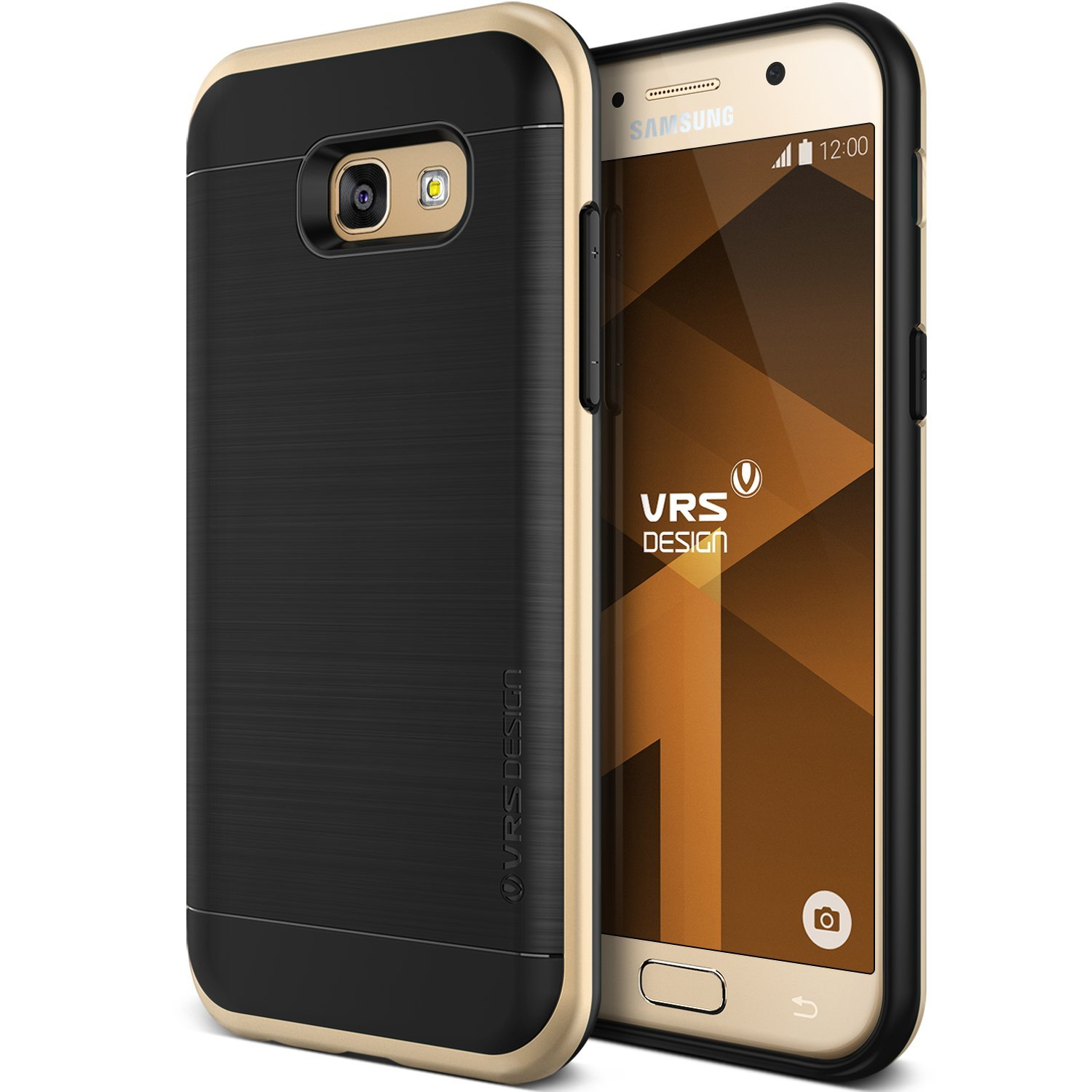 VRS Design Galaxy A5 2017 High Pro Shield Kılıf Shine Gold